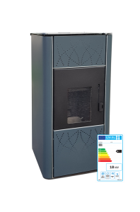 Biodom H20 CV pelletkachel met energielabel A++