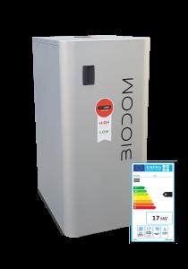 Biodom C15 met energielabel