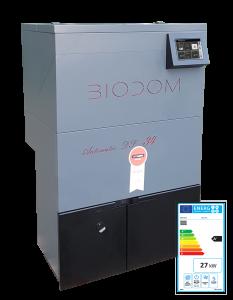 Biodom 27A volautomatische pelletketel